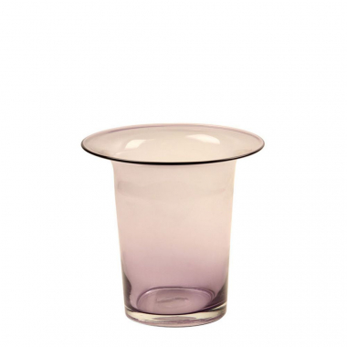 Vaso De Vidro Decorativo Purple