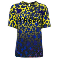 Versace Camiseta Com Estampa Degradê - Estampado