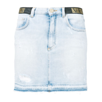 Versace Collection Minissaia Jeans - Azul
