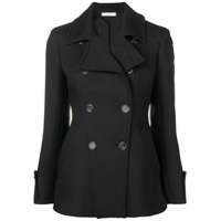 Versace Collection Double-Breasted Jacket - Preto