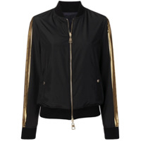 Versace Collection Jaqueta Bomber - Preto