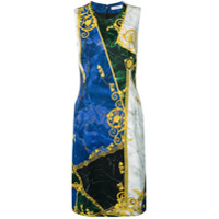 Versace Collection Vestido Estampado - Azul
