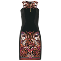 Versace Collection Vestido Tubinho Com Estampa - Preto