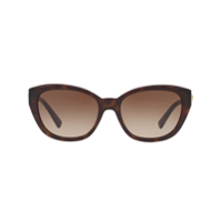 Versace Eyewear Medusa Cat-Eye Sunglasses - Marrom