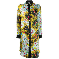 Versace Jeans Couture Chemise Floral - Azul