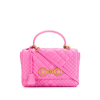 Versace Quilted Icon Shoulder Bag - Rosa