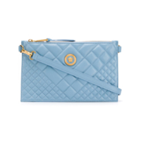 Versace Quilted Medusa Clutch Bag - Azul