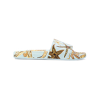 Versace Slipper 'seashell' - Azul