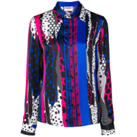 Versus All-Over Print Shirt - Preto