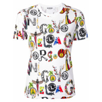Versus All Over Print T-Shirt - Branco
