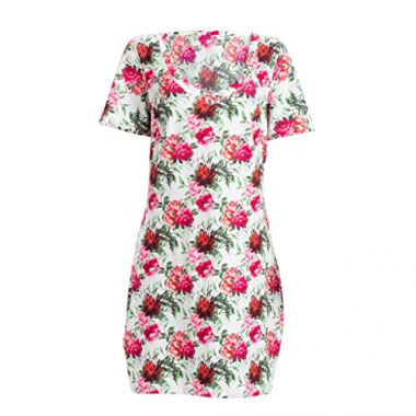 Vestido Adulto T-Shirt Estampada