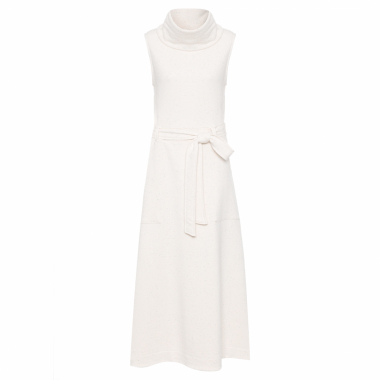 Vestido Clean Gola Alta - Off White