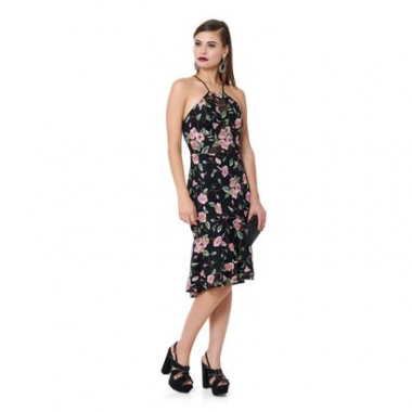 Vestido Fit Flare Tulle Bloomy - 42