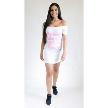 Vestido Fit Training Brasil The Body-Feminino