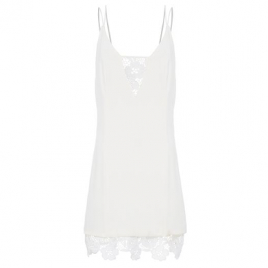 Vestido Guipir Animale - Off White