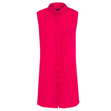 Vestido Linen Basic Collection - Rosa