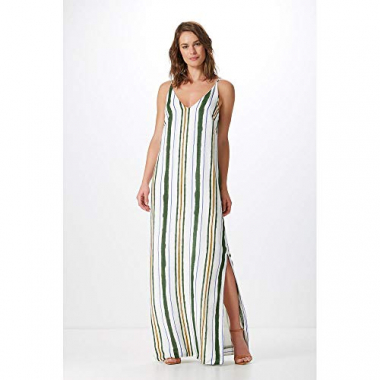 Vestido Longo Est. Safari Stripes-Est. Safari Stripes - Pp