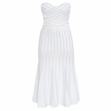 Vestido Midi Alice - Off White