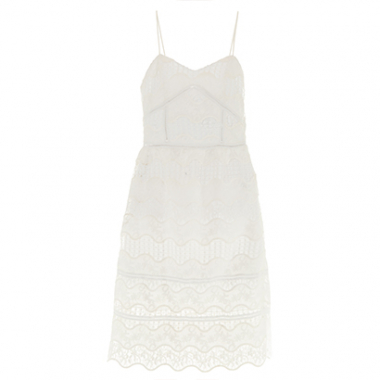 Vestido Mini Laces Renda Cruise