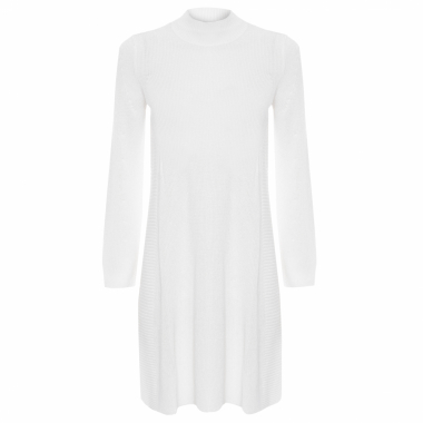 Vestido Rayon Fluid - Off White