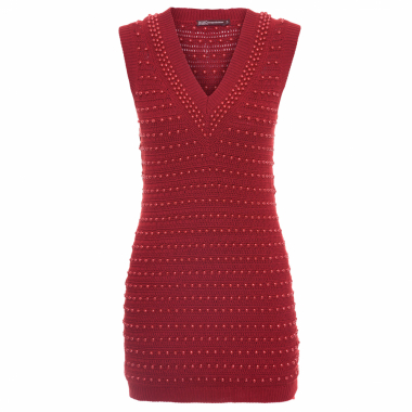 Vestido  Red Pearls