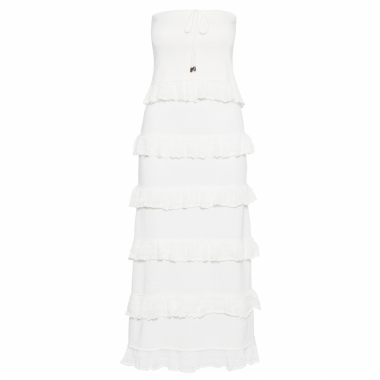 Vestido Tricot Bruna - Off White
