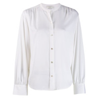 Vince Collarless Shirt - Branco