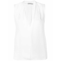 Vince Sleeveless Blouse - Branco
