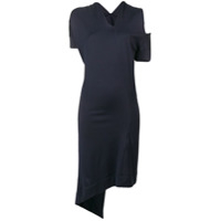 Vivienne Westwood Anglomania Asymmetric Fitted Dress - Azul