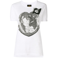 Vivienne Westwood Anglomania Camiseta 'heart World' - Branco