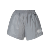 We11Done Shorts Com Ajuste Lateral - Cinza