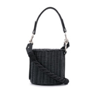 Wicker Wings Lu Bucket Bag - Preto
