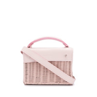 Wicker Wings Mini Kuai Tote - Rosa