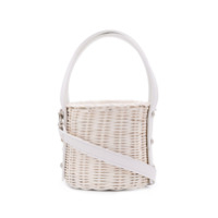 Wicker Wings Quan Bucket Bag - Branco