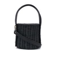 Wicker Wings Quan Bucket Bag - Preto