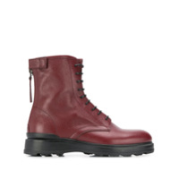 Woolrich Lace-Up Ankle Boots - Vermelho