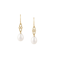Wouters & Hendrix 'my Favourite' Pearl Earrings - Metálico