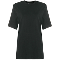 Y-3 Camiseta Decote Careca - Preto