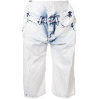 Y/project Short Jeans 'pop-Up' - Azul