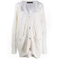 Y/project Sweetheart Neck Cardigan - Neutro