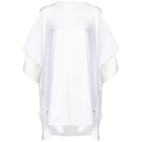 Y's Draped Oversized T-Shirt - Branco