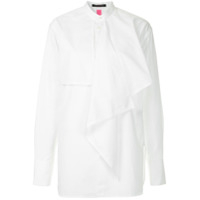 Y's Layered Frill Shirt - Branco