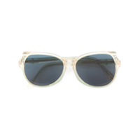 Yves Saint Laurent Vintage Oval Frame Sunglasses - Green