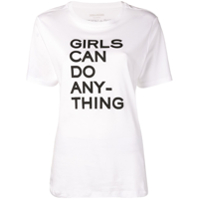 Zadig&voltaire Camiseta Girls Can Do Anything - Branco