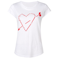 Zadig&voltaire Heart Constellation Print T-Shirt - Branco