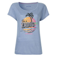 Zadig&voltaire Printed T-Shirt - Roxo
