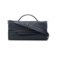 Zanellato Rectangular Clutch - Azul