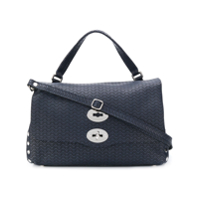 Zanellato Small Stud Detail Tote Bag - Azul