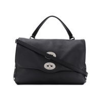 Zanellato Studded Shoulder Bag - Preto
