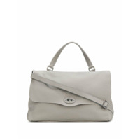 Zanellato Top Handle Shoulder Bag - Cinza